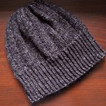 Bankhead hat knitting pattern in Lion Brand Jeans
