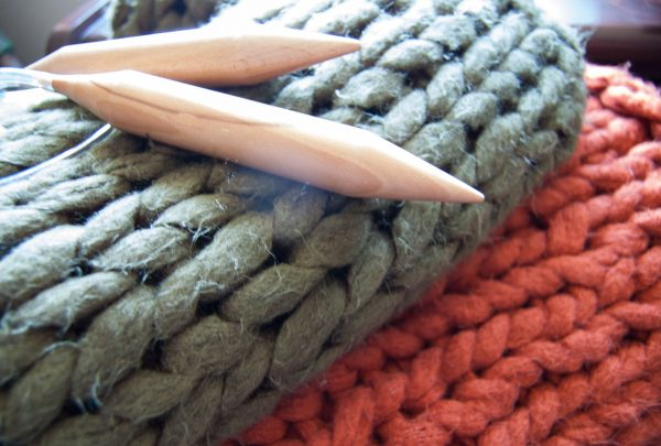 chunky knit blanket premier yarns couture jazz acrylic yarn