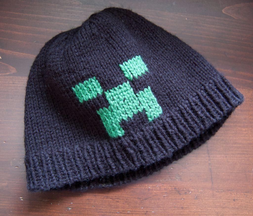 Creeper Hat free knitting hat pattern