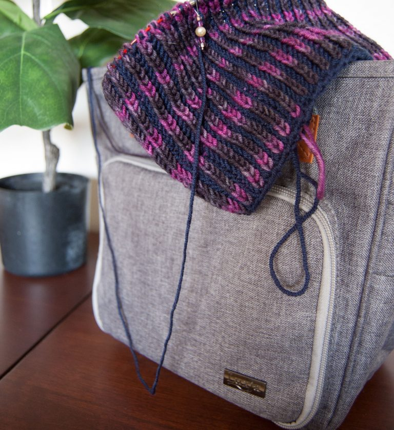 best travel knitting bag the luxja project bag