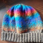Alaska hat in Knit Picks Stroll and Willow Yarns Verbena