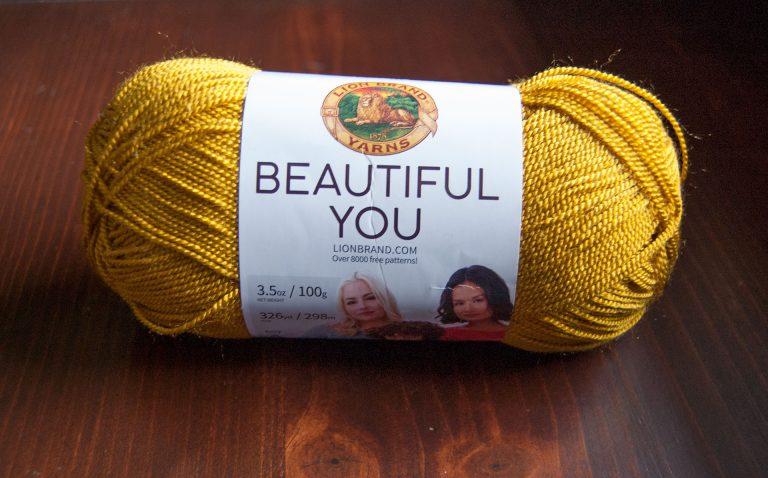 Lion Brand Beautiful You purchased at Joann