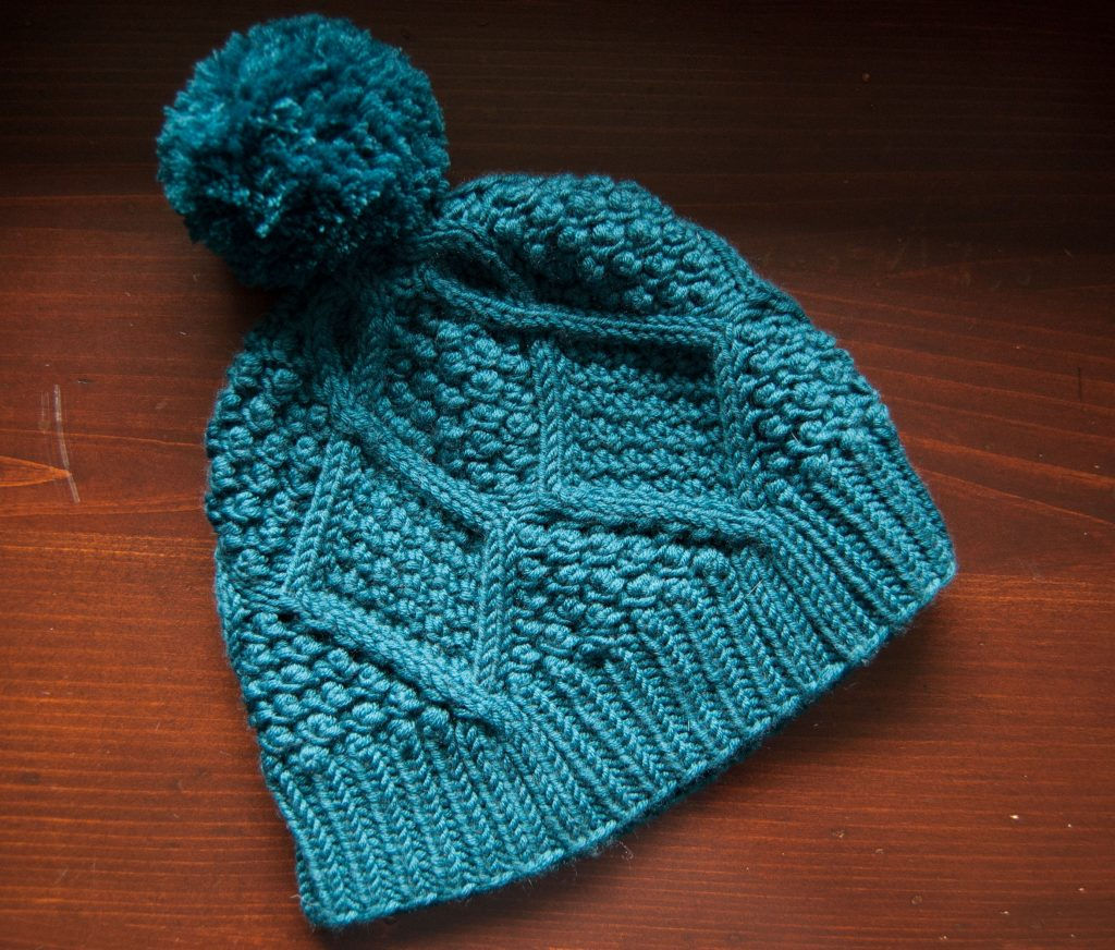 january hat pattern by kelbourne woolens knit by pirateforhire