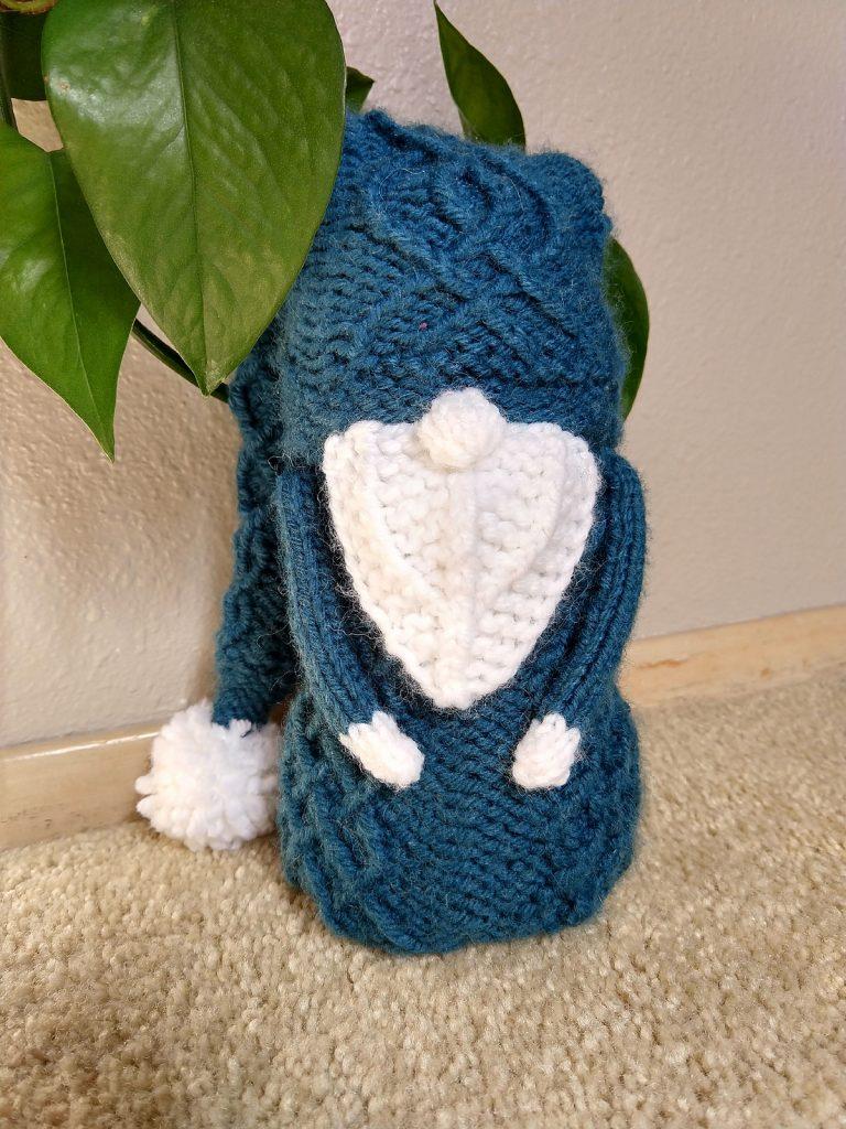 knitting gnome wool blend yarn