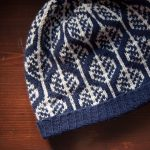 Leaves Begin to Fall Knit Colorwork Hat
