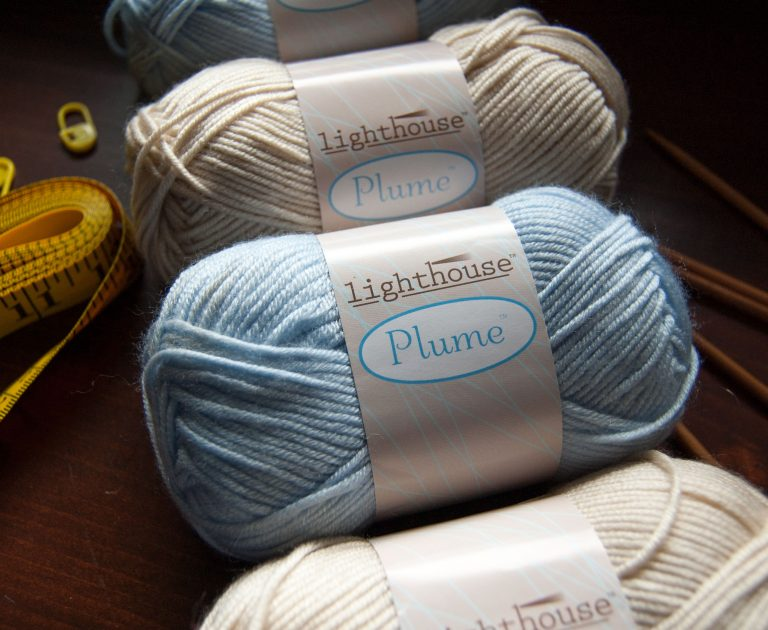 wool yarn, acrylic yarn, nylon yarn blend from Lighthouse yarns