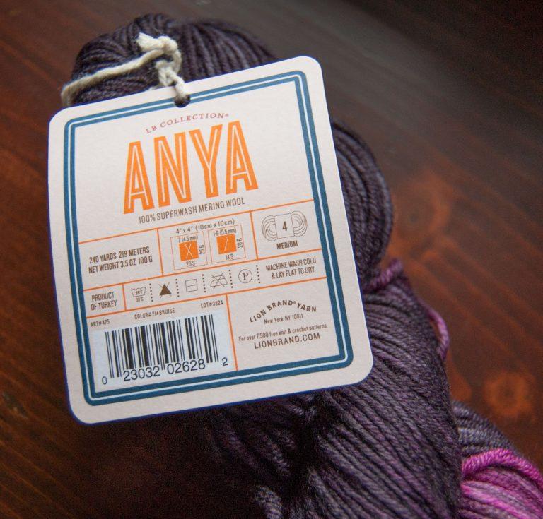 merino wool yarn anya from lion brand
