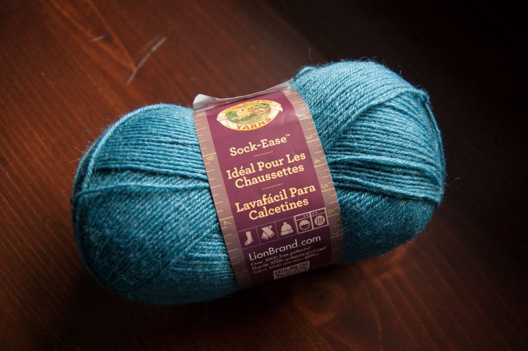 Wool yarn Sock-Ease from Lion Brand