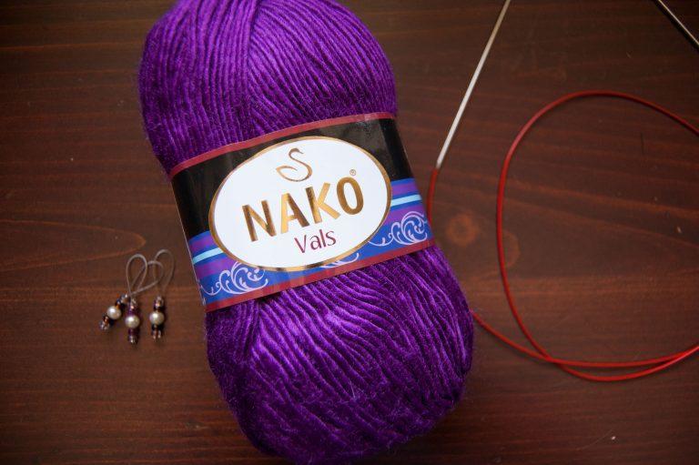 nako vals lightweight acrylic yarn from Joann