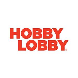 Hobby Lobby sells decor and yarn