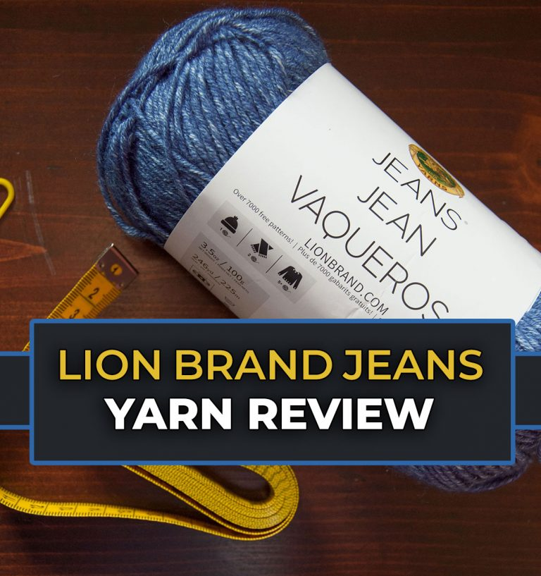 Lion Brand Jeans Review Acrylic Yarn