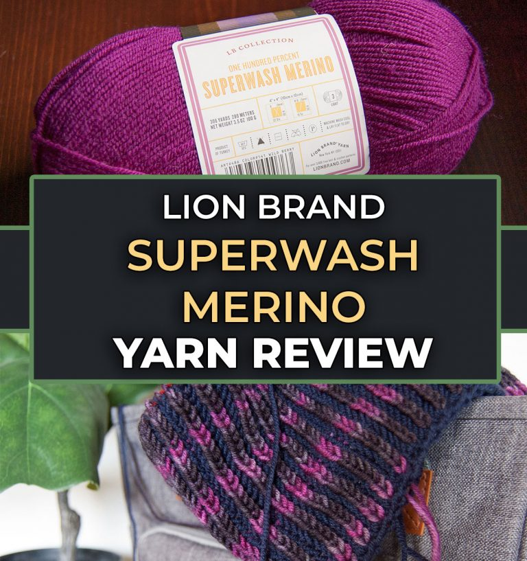 Lion Brand Superwash Merino Review superwash yarn