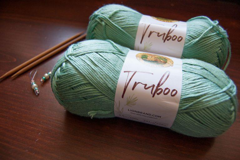 lion brand truboo bamboo yarn rayon yarn
