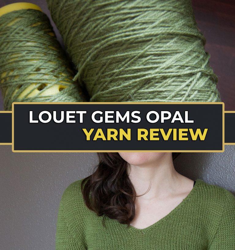Wool Yarn Louet Gems Opal Sport Weight Yarn Review