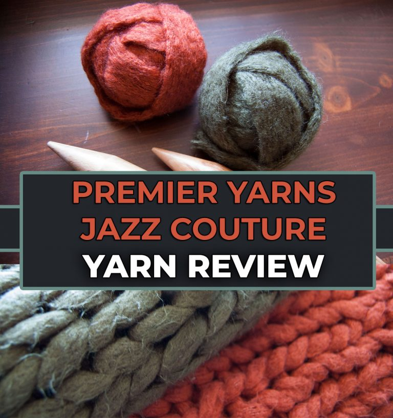 Premier Yarns Couture Jazz Yarn Review