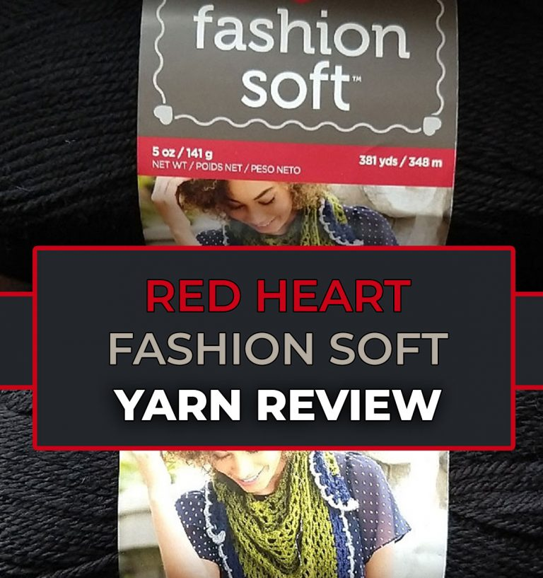 acrylic yarn red heart fashion soft review