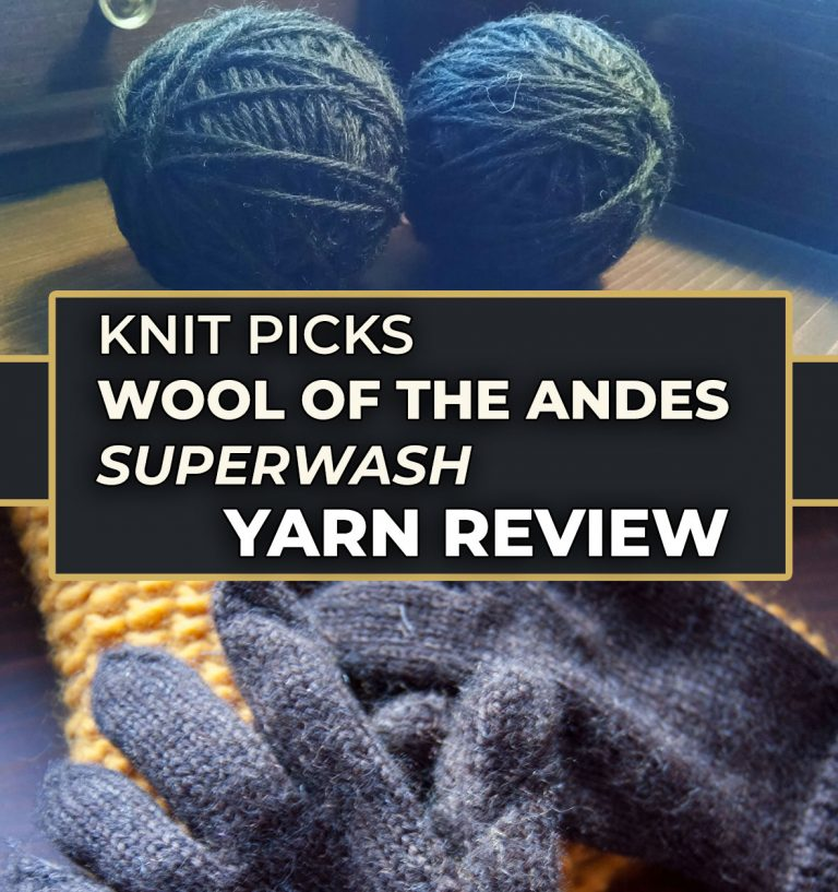 knit picks wool of the andes review superwash wool
