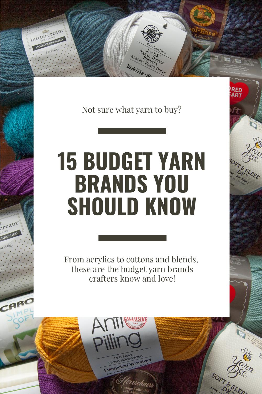 15 Budget Yarn Brands You Should Know Budget Yarn Reviews