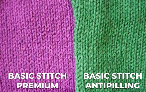 comparing basic stitch premium vs basic stitch antipilling