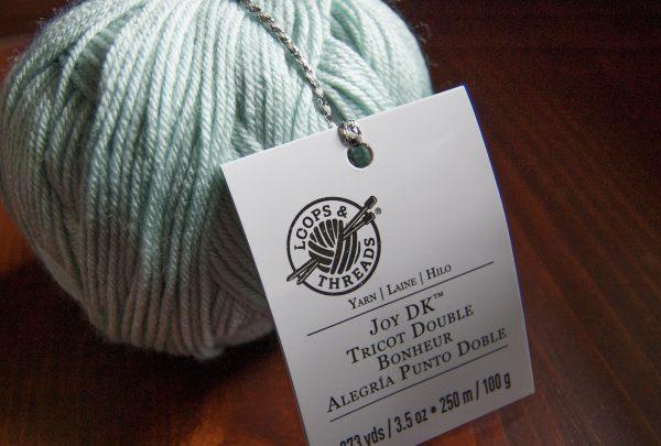 anti-pilling acrylic yarn Joy DK from Loops & Threads