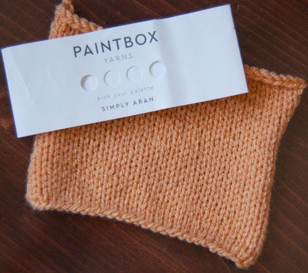 paintbox simply aran acrylic yarn melon sorbet