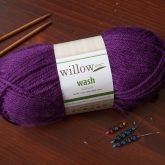 Willow Wash Worsted Weight Acrylic Yarn color Vineyard