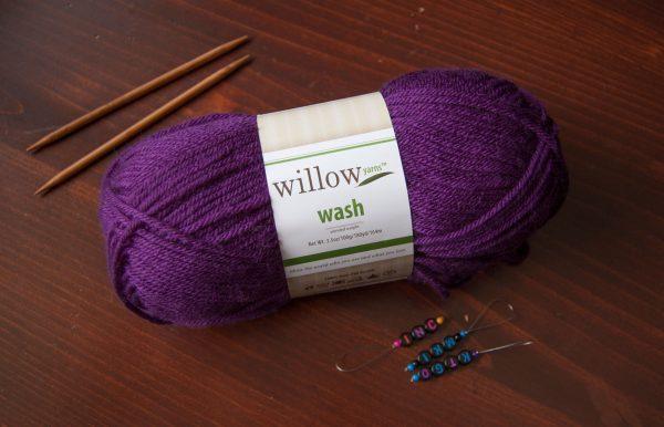 willow yarns wash worsted acrylic yarn