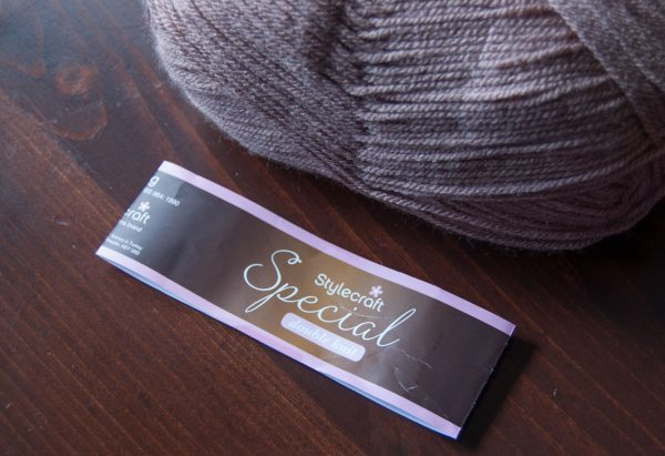 stylecraft special dk yarn ball band removed