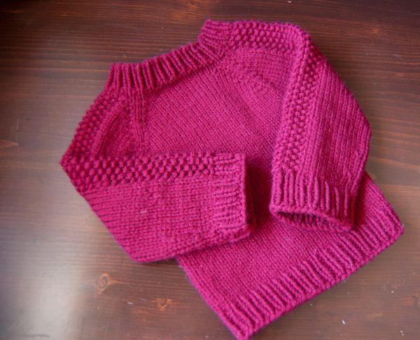 flax sweater in impeccable yarn