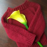flax baby sweater pattern loops and threads impeccable yarn