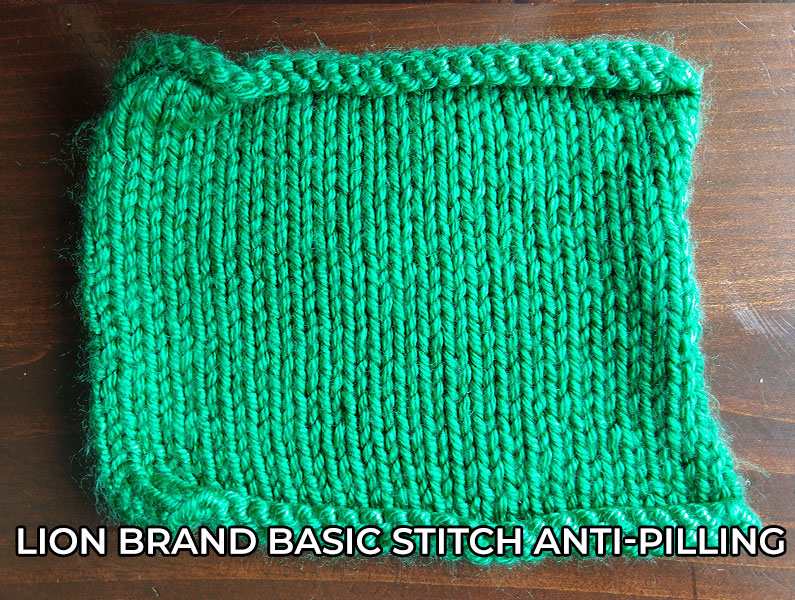 knitting yarn Lion Brand Basic Stitch Antipilling yarn