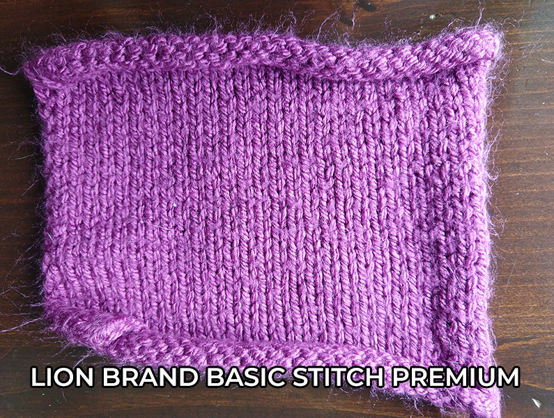 knitting yarn Lion Brand Basic Stitch Premium Yarn