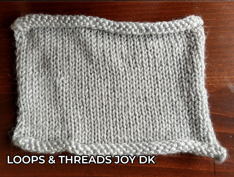 knitting yarn Loops and Threads Joy DK Yarn