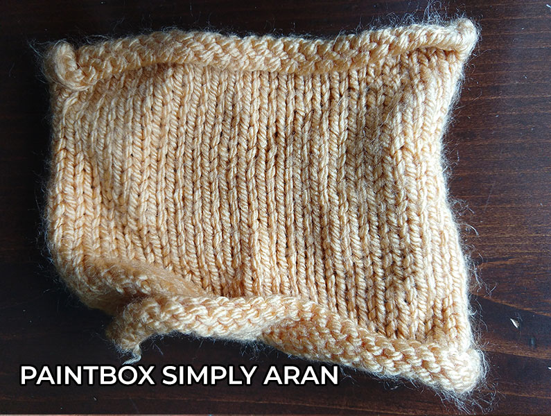 knitting yarn PaintBox Simply Aran Yarn