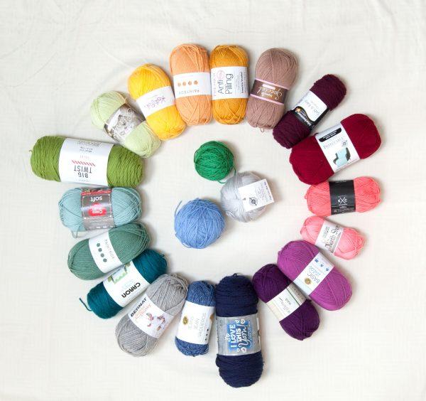 Budget Yarn Reviews Ultimate Acrylic Yarn Comparison