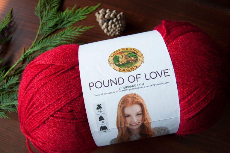 Pound of Love Acrylic Yarn Lion Brand