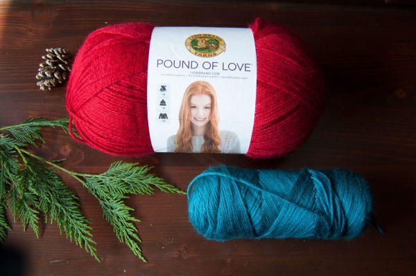 Lion Brand Pound of Love budget yarn