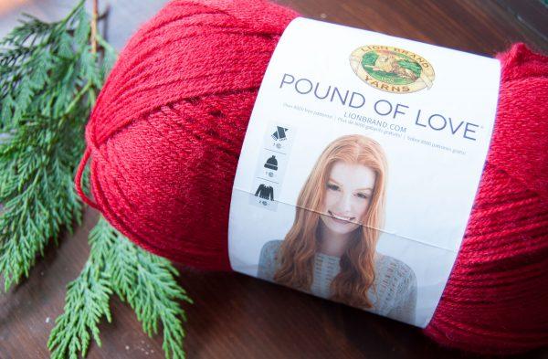 pound of love yarn lion brand acrylic yarn