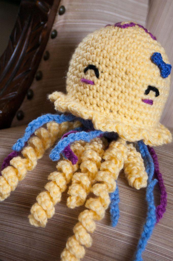 crochet jellyfish pattern amigurumi chrisette designs