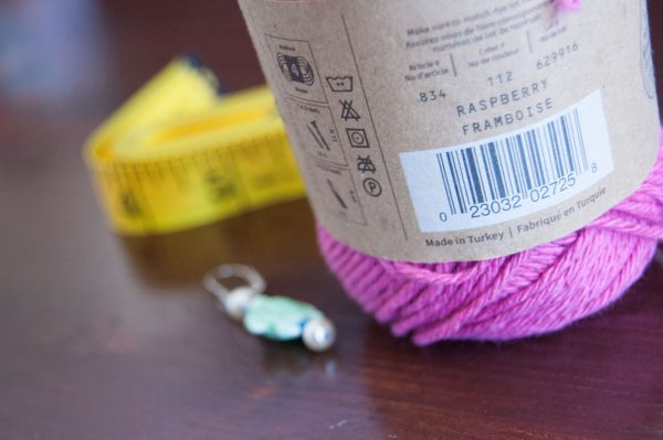 Lion Brand Re-Up cotton yarn