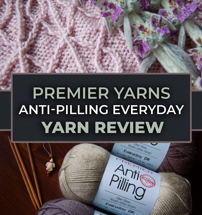 review of premier yarns everyday antipilling yarn