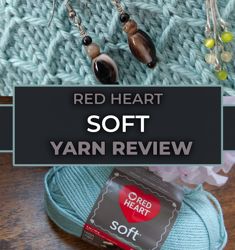review of red heart soft yarn
