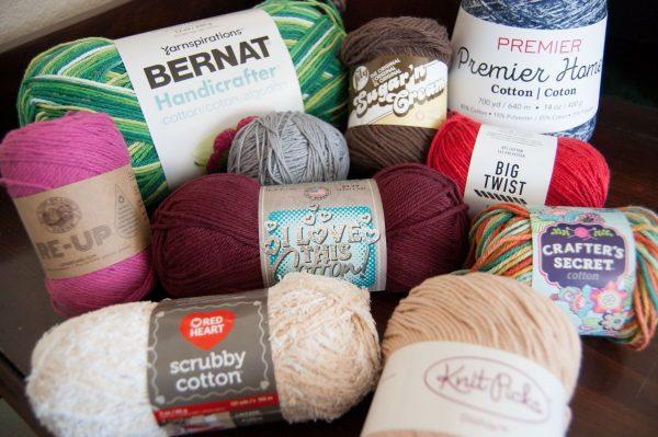 cotton dishcloth yarn comparison