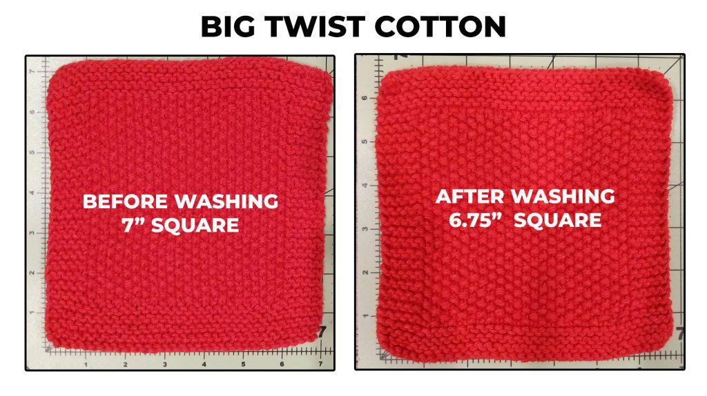 Big Twist Cotton Dishcloth