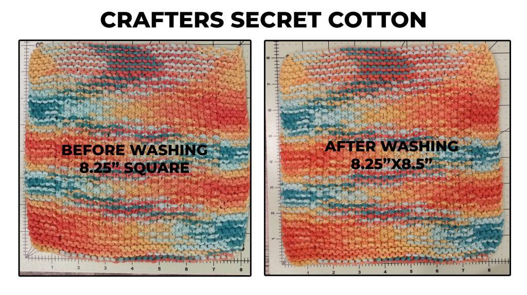 Crafters Secret Cotton Dishcloth