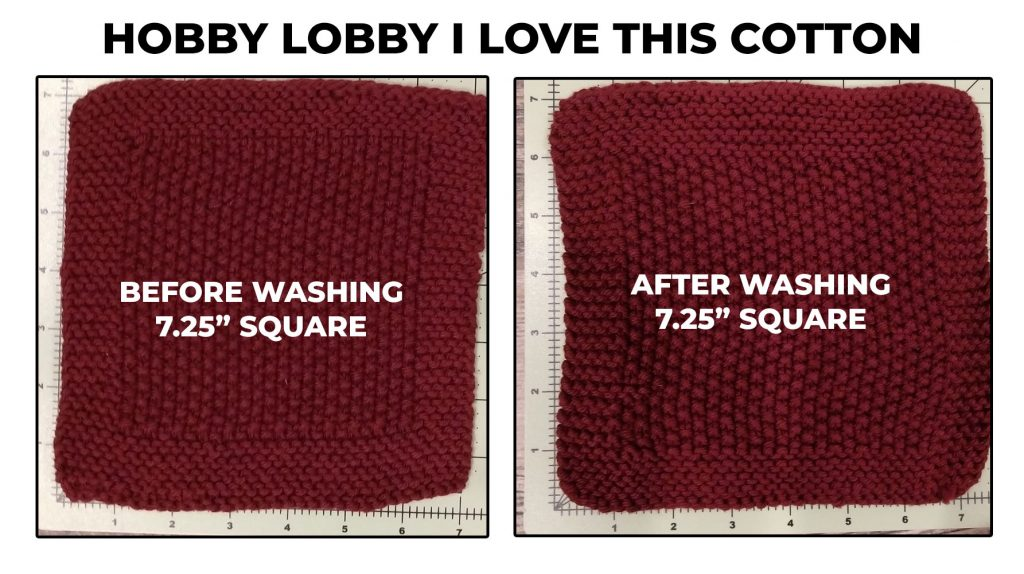 Hobby Lobby I Love This Cotton Dishcloth