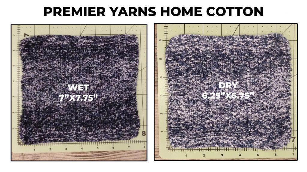 Premier Yarns Home Cotton dishcloth