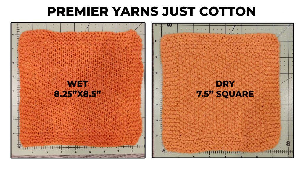 Just Cotton dishcloth