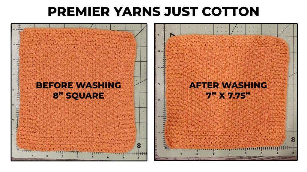 premier yarns just cotton dishcloth