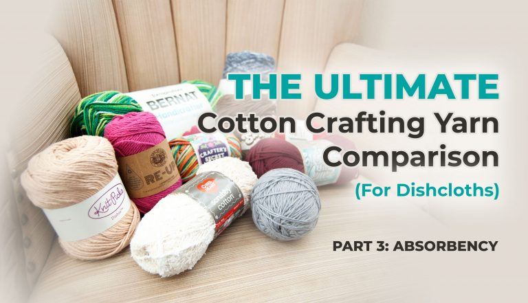 best absorbent cotton yarn from ultimate cotton crafting yarn comparison
